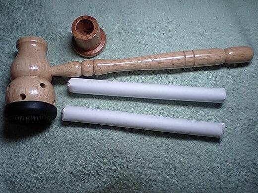 棒灸と棒灸用の温灸器